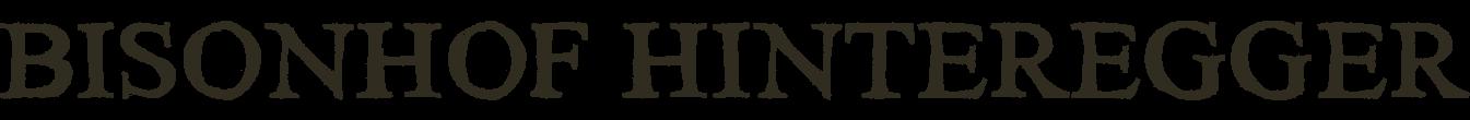Bisonhof Hinteregger